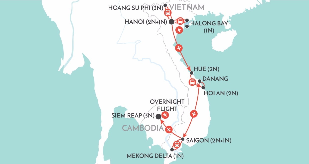 Vietnam, Cambodia, Asia, cheap flights, cruise deals, holiday packages, tours, travel insurance